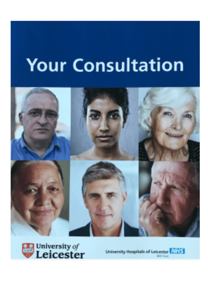 Your Consultation Booklet.